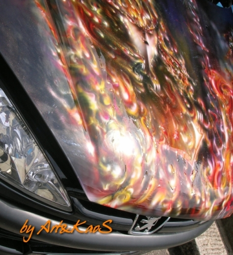 Airbrush Cowling