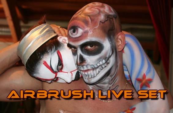 Airbrush Live Set 2008