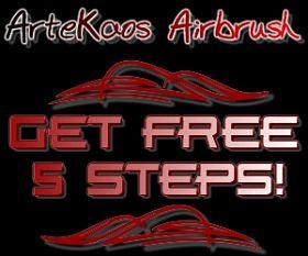 FREE Airbrush Steps